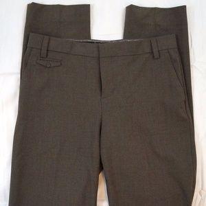 Gap Boy Fit Brown Glen Plaid Size 4 Tall Pants